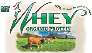 MyWHEY 100% Organic Protein Concentrate. 48 Grams Organic Protein in just 2-Scoops. 100% Raw Whey Concentrate (Organic SuperFood* Flavored & Unflavored)